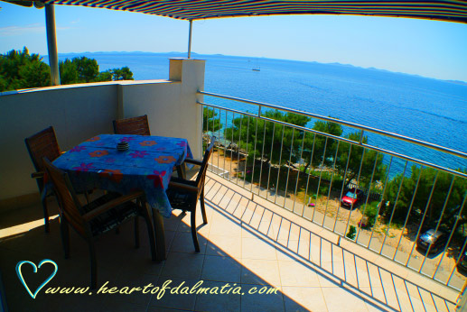 Apartament Podraduc Seaside 2+2 w Murter
