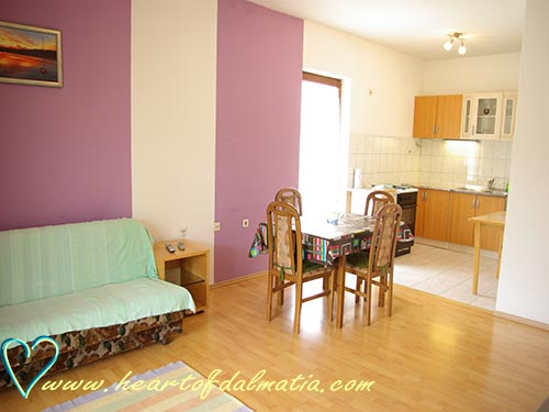 Apartment Kornatska A4+1 in Murter