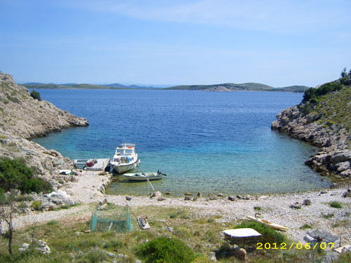 Fisherman\'s house Kornat A4+1 in Kornati
