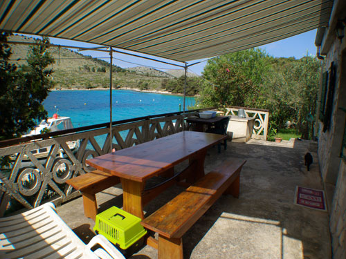 Apartment Robinson - Zut 4+1 in Kornati