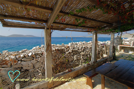 Fisherman\'s house Kornat Koromasna 2+1 in Kornati