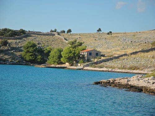 Apartment Kornatica in Kornati, Lucica
